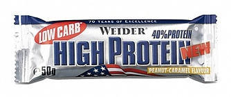 40% Low Carb High Protein bar